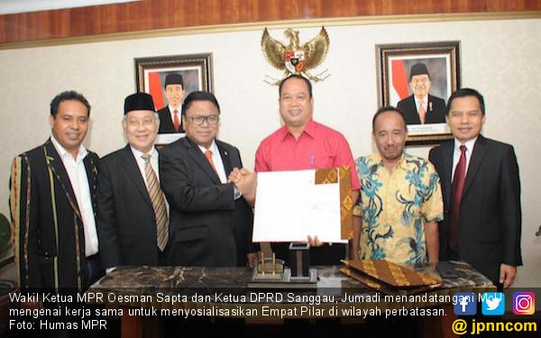 OSO: MPR Dukung Sosialisasi 4 Pilar di Wilayah Perbatasan - JPNN.COM