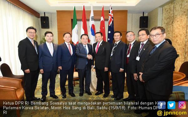 Ketua DPR Dorong Peningkatan Kerja Sama RI dan Korsel - JPNN.COM