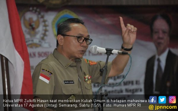 Ketua MPR: Mahasiswa Harus Mampu jadi Pelopor Persatuan - JPNN.COM