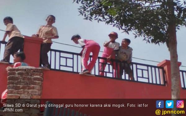 Guru Honorer Mogok, Ribuan Anak SD di Garut Telantar - JPNN.COM