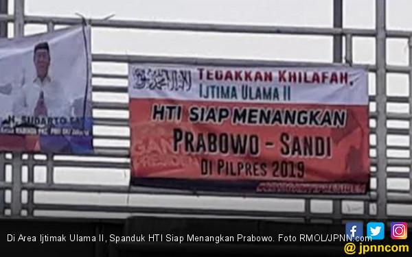 Ada Spanduk HTI Siap Menangkan Prabowo, Gerindra: Biar Saja - JPNN.COM