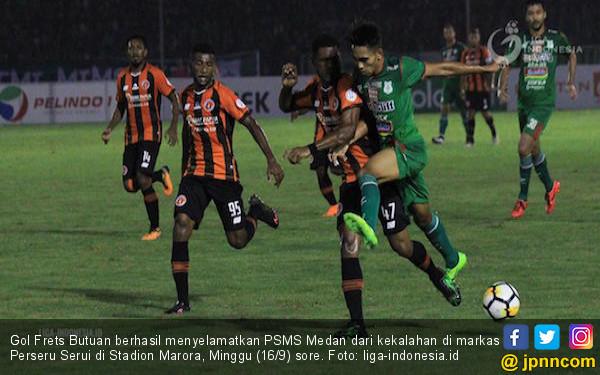 Gol Frets Butuan Selamatkan PSMS Medan dari Kekalahan - JPNN.COM
