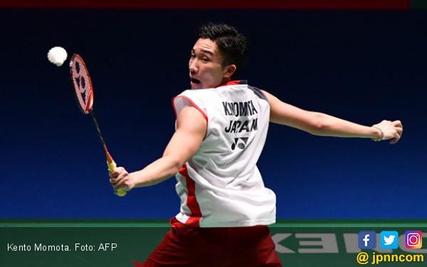 Kento Momota: Juara di Japan Open Mimpi Saya Sejak Lama - JPNN.COM