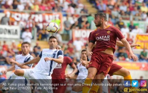Hasil Liga Italia: AS Roma Hat-trick Tanpa Kemenangan - JPNN.COM