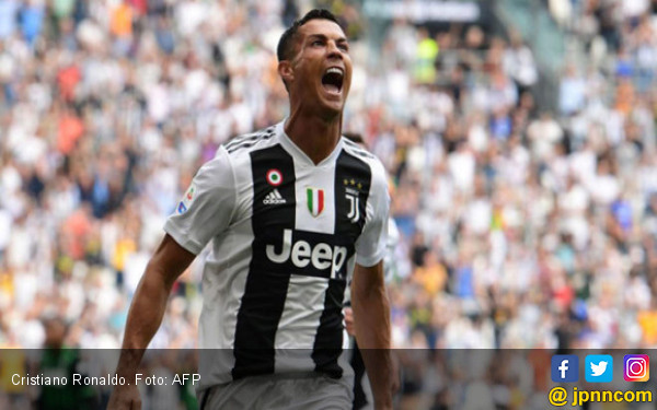 Cristiano Ronaldo Akhirnya Pecah Telur di Juventus - JPNN.COM