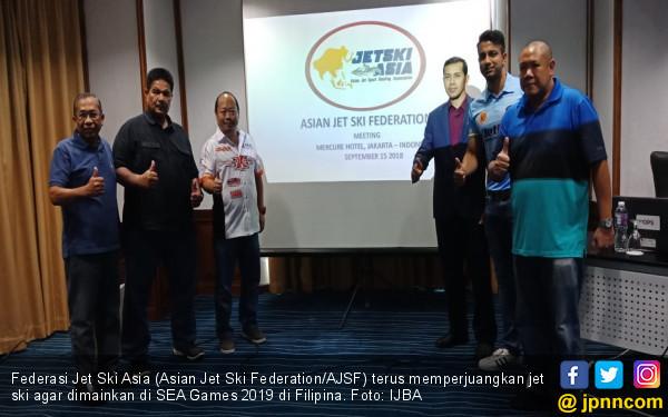 AJSF Perjuangkan Jet Ski Digelar di SEA Games 2019 - JPNN.COM
