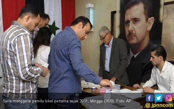 Syria Gelar Pemilu Lokal, Semua Kandidat Orangnya Assad - JPNN.com