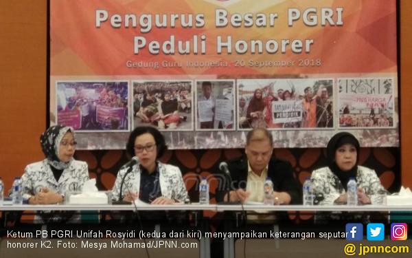 Simak nih Imbauan Ketum PGRI untuk Guru Honorer K2 - JPNN.COM