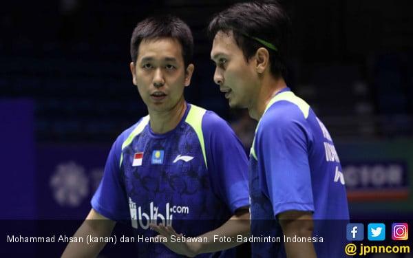 Jempolan! Ahsan / Hendra Lolos ke Semifinal Hong Kong Open - JPNN.COM