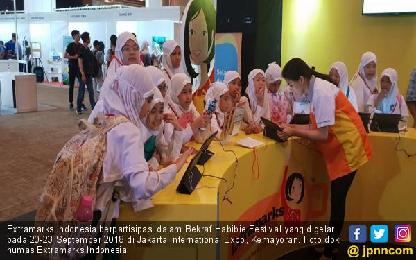 Extramarks Indonesia Hadir Di Bekraf Habibie Festival 2018 - JPNN.com
