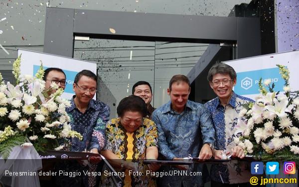 Dealer Piaggio Berfasilitas 3S Hadir di Serang - JPNN.com