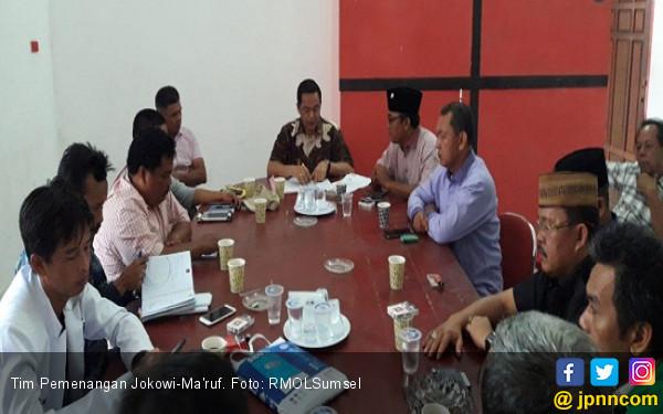 Tim Pemenangan Yakin Jokowi - Ma'ruf Menang di Muara Enim - JPNN.COM