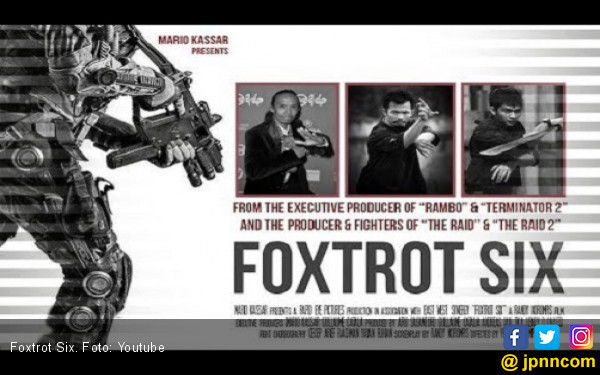 Produser Top Hollywood Puji Sutradara Foxtrot Six - JPNN.COM