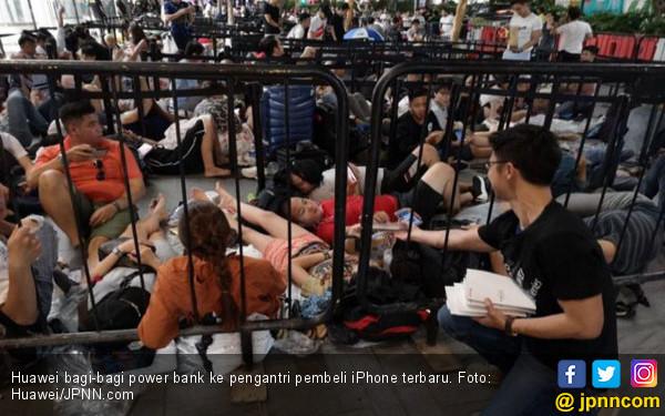 Sindiran Huawei ke Penggemar iPhone - JPNN.COM
