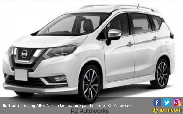 Sedikit Perkembangan Calon MPV Nissan Kembaran Xpander - JPNN.COM