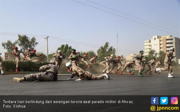 Teroris Serang Parade Militer Iran: 25 Tewas, 70 Luka - JPNN.com