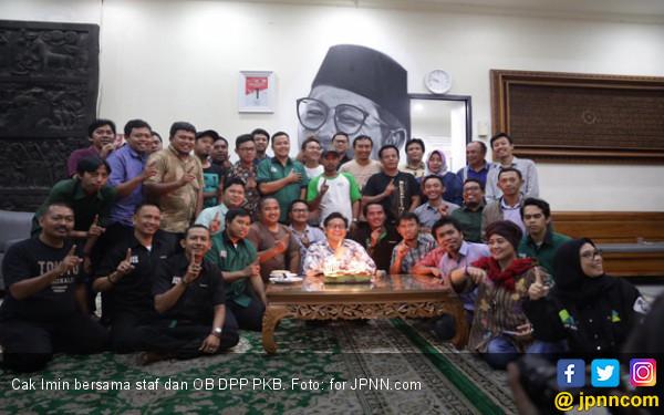 Cak Imin Peringati Harlah Bersama OB dan Sekuriti DPP PKB - JPNN.COM