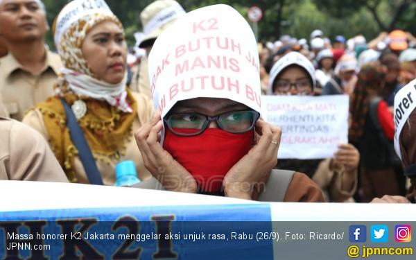 Silatnas Honorer K2: Dari Jatim 5 Ribu Massa, Daerah Lain Berapa? - JPNN.com