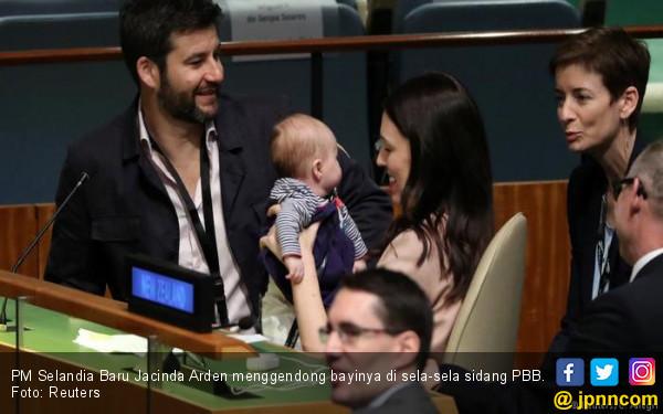 Bayi PM Selandia Baru Hebohkan Sidang PBB - JPNN.COM