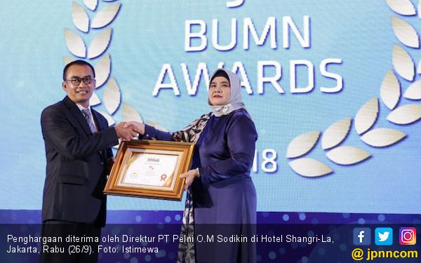 Pelni Raih Predikat Sangat Bagus di Infobank 9th BUMN Award - JPNN.COM