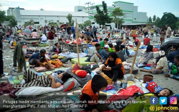 Ikuti Arahan Jokowi, Relawan Turun ke Lokasi Gempa Palu - JPNN.COM