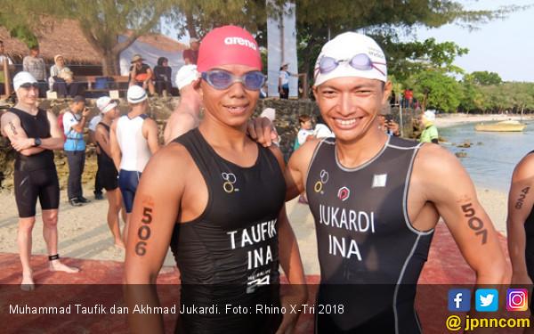 2 Atlet Nasional Bidik 3 Besar Rhino X-Tri 2018 - JPNN.COM