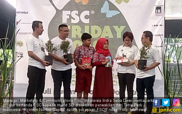 FSC Friday Ajarkan Anak-anak untuk Peduli Lingkungan - JPNN.com