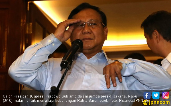 Kasus Ratna Sarumpaet, Apakah Prabowo Bakal Diperiksa? - JPNN.COM