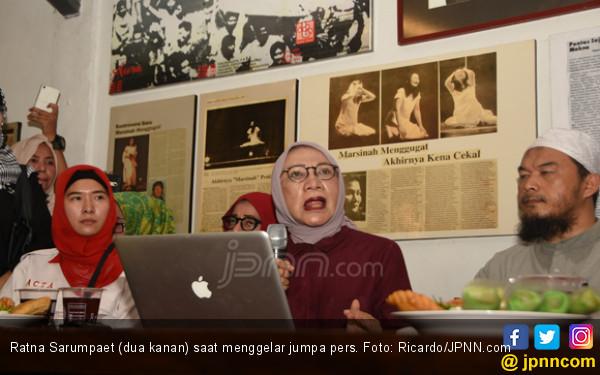 Ratna Sarumpaet, Awalnya Bohong ke Anak, Viral di Indonesia - JPNN.COM