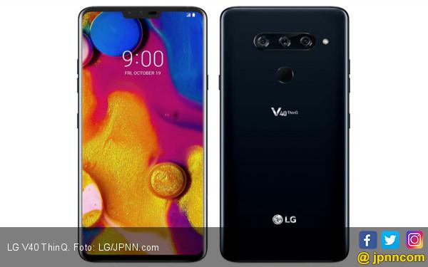 LG Resmi Rilis Ponsel 5 Kamera, Selamat Bersenang-senang! - JPNN.COM