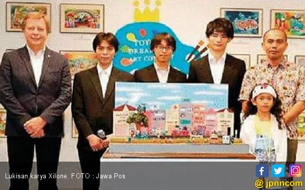 Xilone Sabet Gold Award di Jepang - JPNN.COM