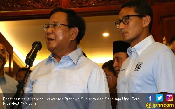 Ini Isu Seksi Bisa Dongkrak Elektabilitas Prabowo - Sandi - JPNN.COM