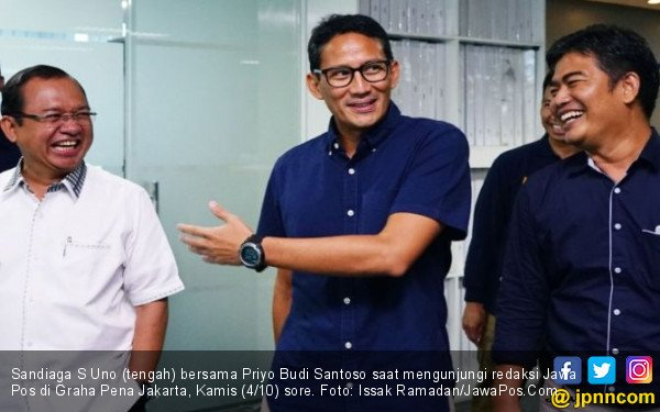 Sandi Bandingkan Harga Makan Siang di Jakarta dan Singapura - JPNN.com