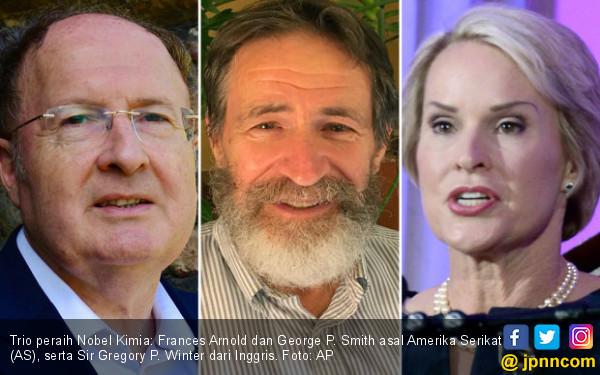 Ini Tiga Ilmuwan Pemenang Nobel Kimia 2018 - JPNN.COM