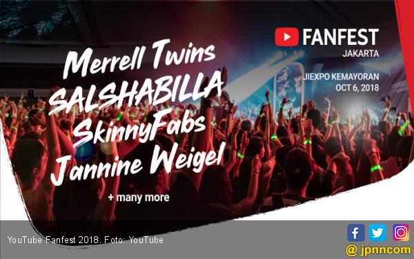 YouTube Fanfest 2018 Sediakan 500 Tiket Tambahan - JPNN.COM