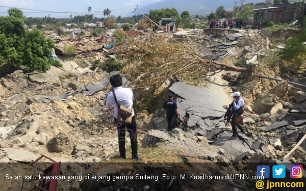 Mengunjungi Desa di Sigi yang Kena Blender Gempa, Merinding - JPNN.COM