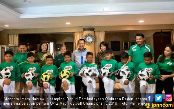 Menpora Senang Nestle Ikut Kembangkan Sepak Bola Indonesia - JPNN.COM