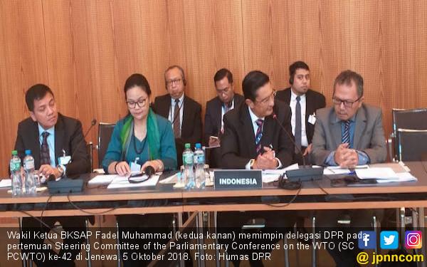 Delegasi DPR Aktif Dalam Pertemuan SC PCWTO di Swiss - JPNN.COM