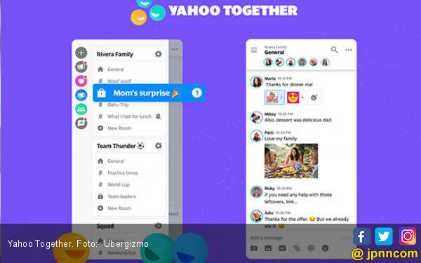 Yahoo Together akan Gantikan Yahoo Massenger - JPNN.COM