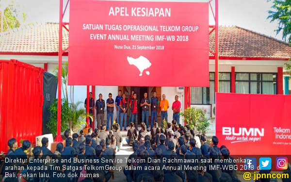 TelkomGroup Turut Sukseskan Annual Meeting IMF – World Bank - JPNN.COM