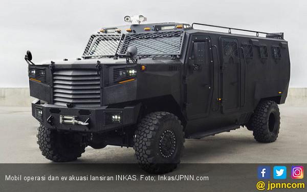 Mobil Operasi dan Evakuasi di Medan Perang - JPNN.com
