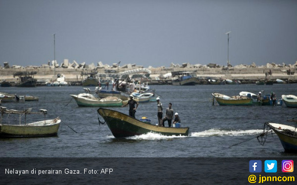 Israel Jatuhkan Sanksi Berat kepada Nelayan Palestina - JPNN.COM