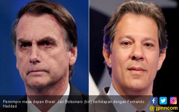 Pilpres Brasil Dua Putaran, Kubu Kanan di Atas Angin - JPNN.COM