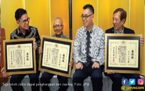 Selamat, 3 Tokoh Jatim Raih Penghargaan dari Menlu Jepang - JPNN.COM