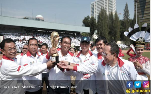 Mendikbud Buka Pertandingan Sepak Bola Gala Siswa Indonesia - JPNN.COM