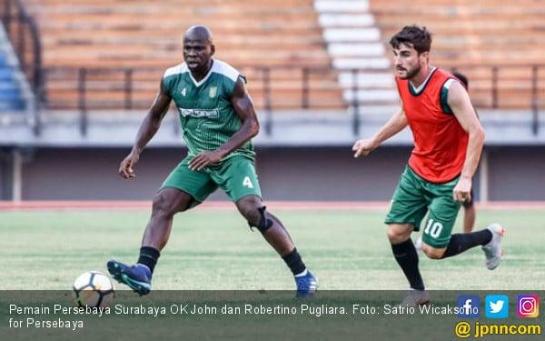 2 Bek Andalan Persebaya Ingin Jebol Gawang Borneo FC - JPNN.COM