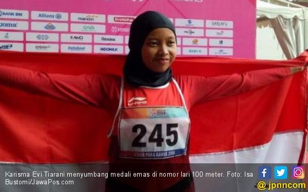 Karisma Evi Tiarani Beberkan Kunci Sukses Meraih Emas - JPNN.com