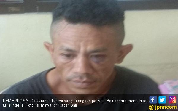 Dor! Polisi Lumpuhkan Pemerkosa Turis Inggris di Bali - JPNN.COM