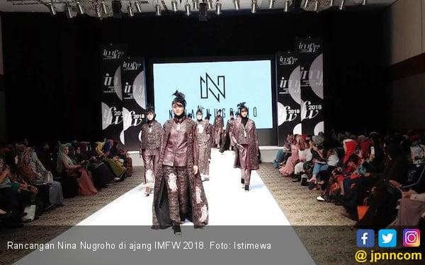 Tampil di IMFW 2018, Nina Nugroho Usung Tema Rendezvous - JPNN.com