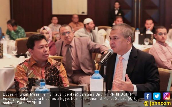 Good News, Road Show PTPN III di Mesir Jaring Kontrak Besar - JPNN.COM
